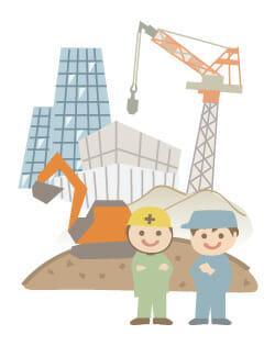 建設現場 イメージ