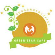 ドーナッツ・GREEN STAR CAFE・ロゴ制作